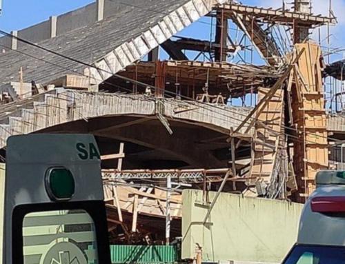 Derrumbe en la cancha de Ferro: seis trabajadores heridos tras la caída de una tribuna en construcción